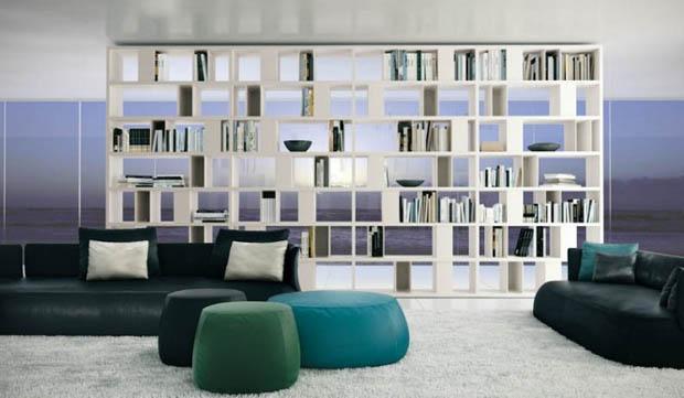Shelves-ชั้นไม้วางของ แบบเปิด 2 ด้าน