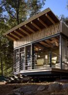 แบบบ้านกระท่อมไม้