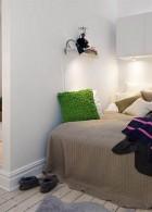 ห้องนอนขนาดเล็ก แคบๆ ในคอนโดมิเนียม