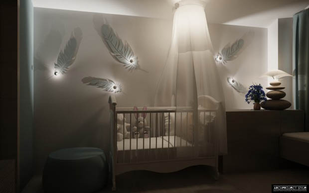 จัดห้องนอน เตียงนอนเปล สำหรับเด็ก มีคุณภาพ