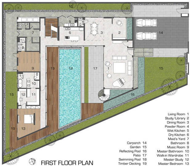 Thai Modern Home Best Free Home Design Idea