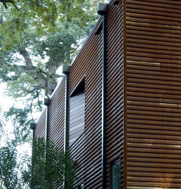 แบบฝาบ้านไม้ระแนง