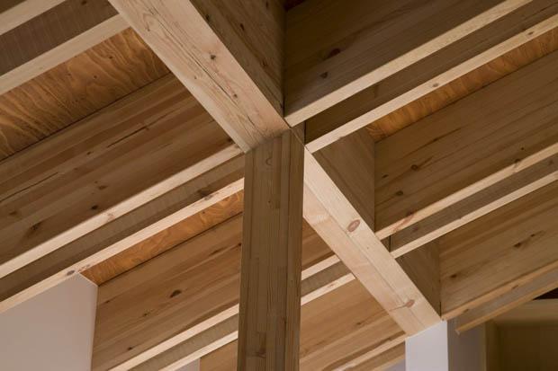 แบบโครงสร้างหลังคา ทำด้วยไม้
