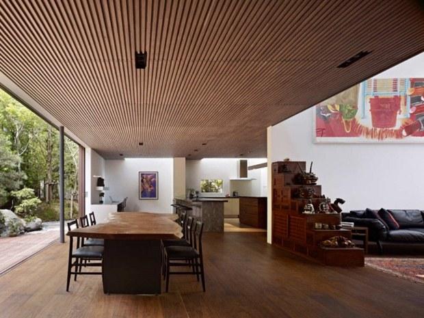 ออกแบบห้องครัว เฟอร์นิเจอร์ห้องคร สไตล์ญี่ปุ่นสมัยใหม่