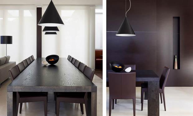 แบบเฟอร์นิเจอร์ไม้ สีโอ๊ค โต๊ะ เก้าอี้ รับประทานอาหาร