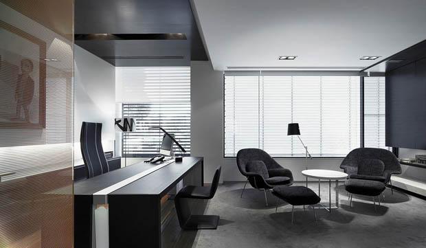 เฟอร์นิเจอร์ Home Office สีดำ