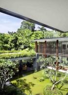 แบบสวนขนาดใหญ่ ภายในบ้าน