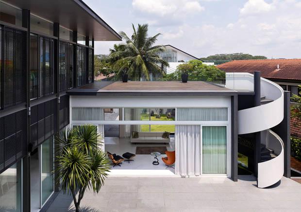 ออกแบบรูปทรง หลังคาบ้าน