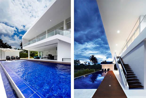 การสร้างสระว่ายน้ำภายในบ้าน