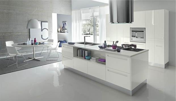 แบบห้องครัวสีขาว การเลือกซื้อเฟอร์นิเจอร์ห้องครัว