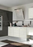 แบบห้องครัวสวยๆ สีขาว ตกแต่งราคาประหยัด