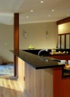 ออกแบบบิวท์อิน เคาน์เตอร์ทำอาหารในห้องครัว