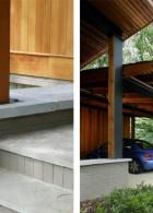 ไอเดียสร้างโรงจอดรถ ด้วยไม้ สร้างไว้ข้างบ้าน