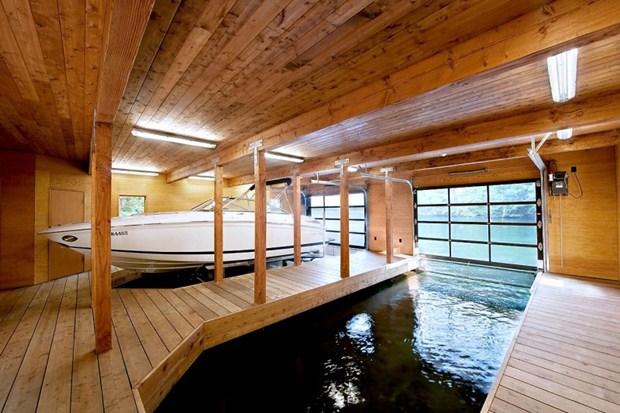 แบบบ้านบนน้ำ ลอยน้ำได้ ป้องกันน้ำท่วม