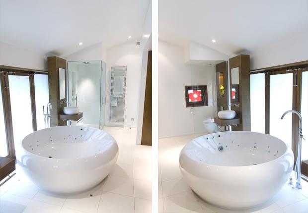 อ่างอาบน้ำ ทรงกลม เฟอร์นิเจอร์ห้องน้ำ