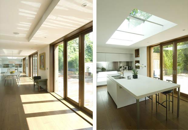 เจาะเพดานบ้าน เพื่อรับแสงจากภายนอก