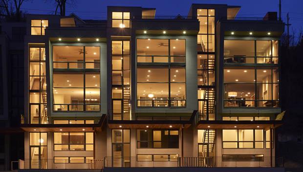 แบบบ้านอาคารพานิชย์ 3 ชั้น