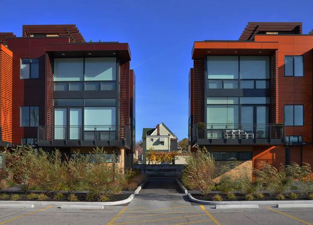 แบบสร้างบ้านตึกแถว 3 ชั้น