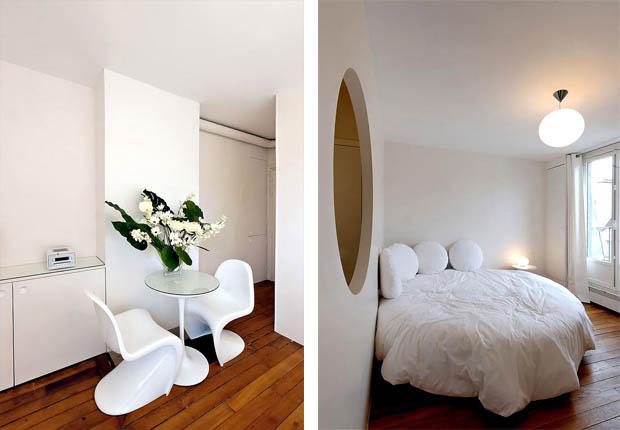 เก้าอี้สีขาว ทรงโมเดิร์น ทันสมัย แต่งห้องนอน