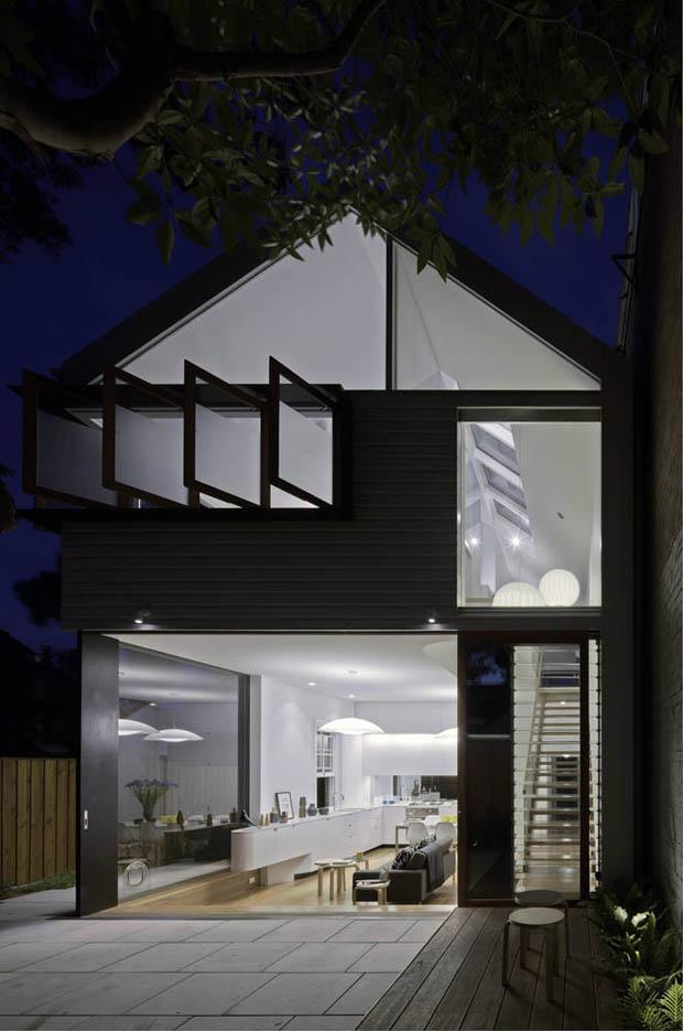 บ้านเดี่ยวสองชั้น สไตล์ Contemporary