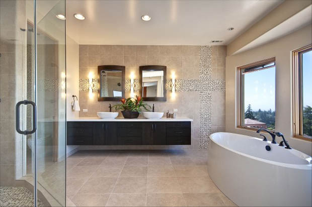 Beautiful Bathroom Color Schemes For 2018: บ้านไอเดีย เว็บไซต์เพื่อบ้านคุณ