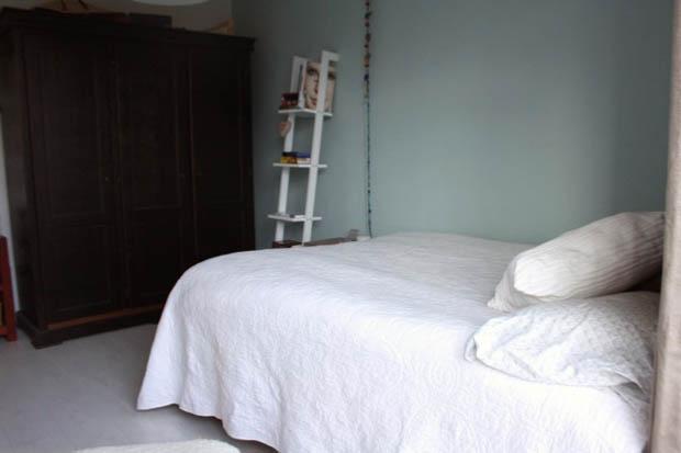 แบบผ้าปูที่นอน ผ้านวม สีขาว