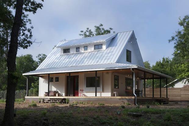 แบบบ้านชั้นครึ่ง บ้านในฟาร์ม