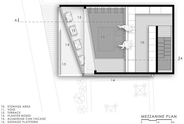 แปลนทาวน์โฮม อาคารพานิชย์ 2 ชั้น