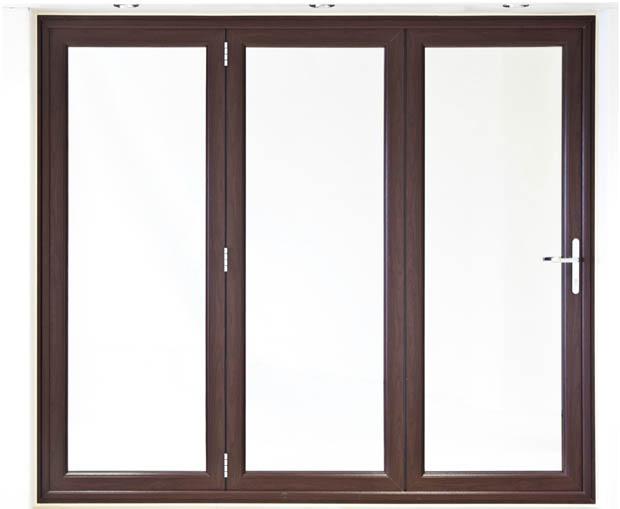 ประตูบานเฟี้ยม วงกบไม้ บานกระจก