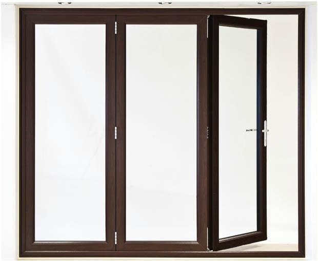 แบบประตูบานเฟี้ยม วงกบไม้