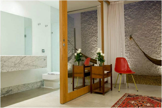 แบบห้องน้ำเล็กๆ ห้องแต่งตัว ใน Home Office