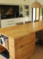 โต๊ะไม้เนื้อแท้ โต๊ะกินข้าว