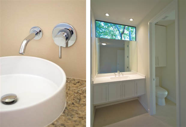 แต่งห้องส้วมขนาดเล็ก กั้นแยกกับห้องอาบน้ำ