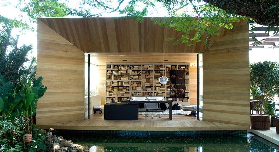 ออกแบบบ้านกลมกลืนกับธรรมชาติ