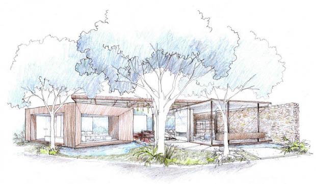 ภาพวาด รูปบ้าน ออกแบบบ้าน