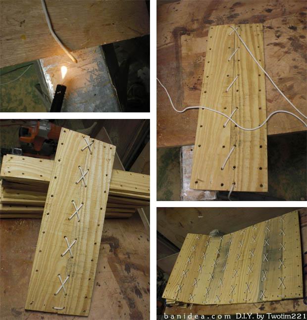 วิธีทำ ชิงช้า แขวนใต้ตนไม้