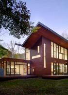 แบบบ้านไม้สองชั้น สไตล์ Tropical Modern