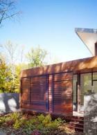 ผนังบ้านไม้ ซ้อนเกล็ด