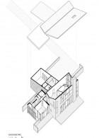โครงสร้างบ้านสองชั้น สามมิติ