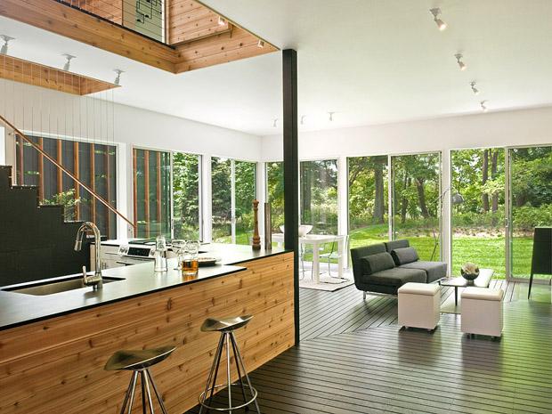 สถาปนิกออกแบบบ้านสวย สองชั้น