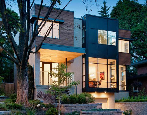 แบบบ้านพักอาศัย 2 ชั้น ปรับพื้นบ้านให้สูง
