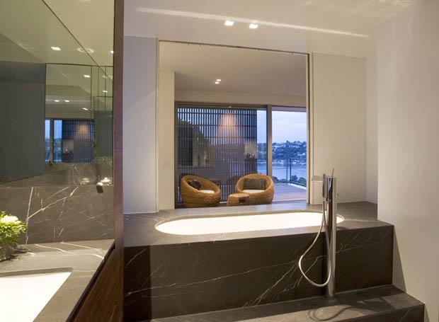 อ่างอาบน้ำแบบฝัง แต่งห้องน้ำ