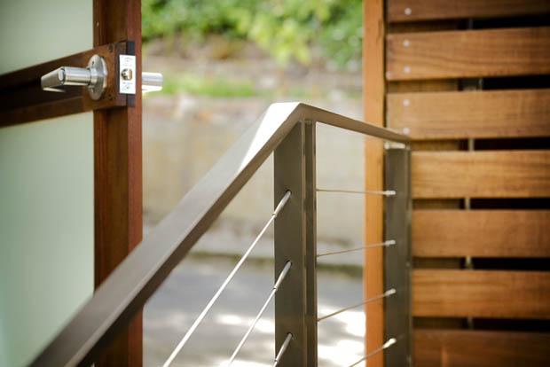 บันไดราวเหล็ก ประตู้รั้วบ้าน