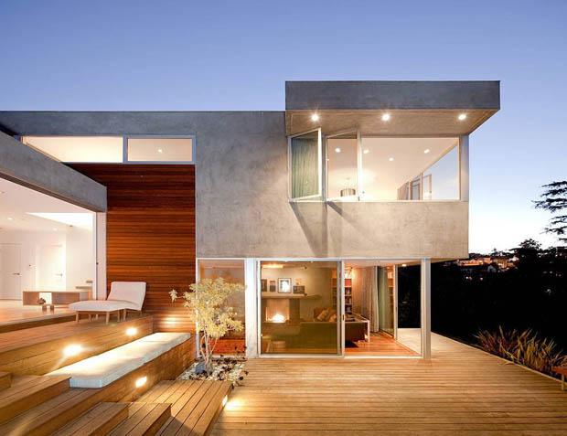 แบบบ้านปูนขัดมัน Tropical Modern