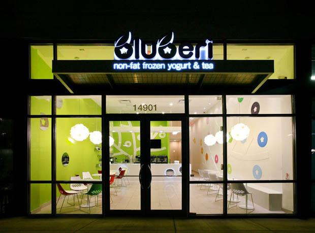 แบบร้านไอศกรีม ร้านกาแฟสด ใต้ทาวน์โฮม