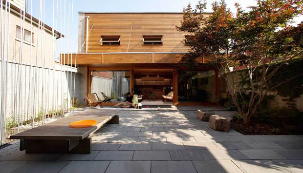 พื้นลานหน้าบ้าน จัดสวนเล็กๆไว้หน้าบ้าน