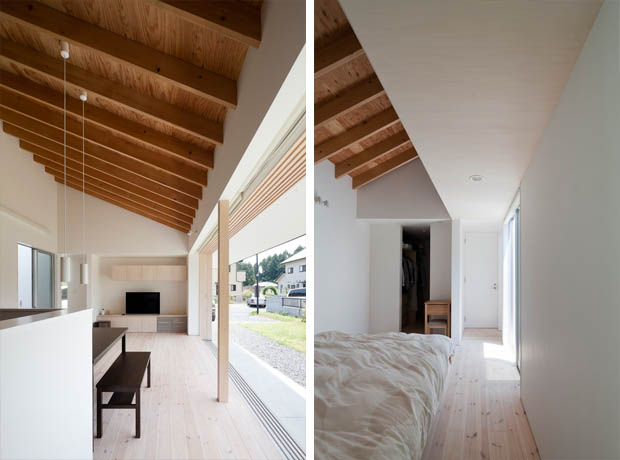 โครงหลังคาไม้ ทรงปั้นหยา บ้านชั้นเดียว