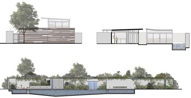 โครงสร้างบ้านชั้นเดียว แปลนบ้านฟรี
