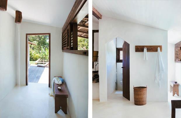 ห้องอาบน้ำ แต่งแบบธรรมชาติ