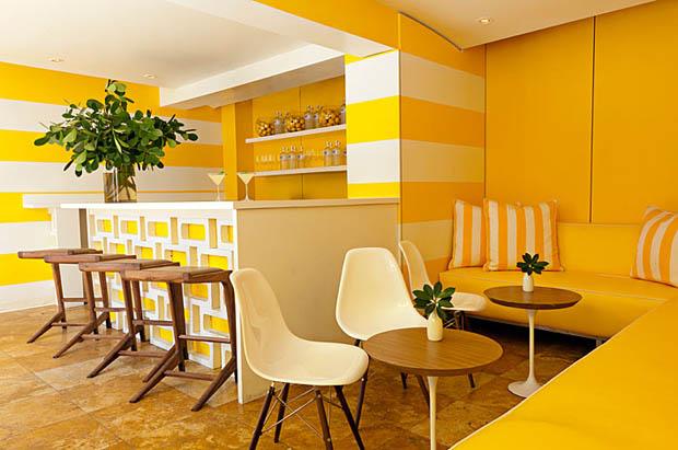 ตกแต่งห้องอาหารด้วยสีเหลือง